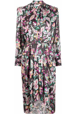 Isabel Marant Okleya floral-print dress