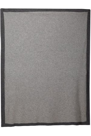 SIOLA Sjaals - Two-tone cashmere blanket