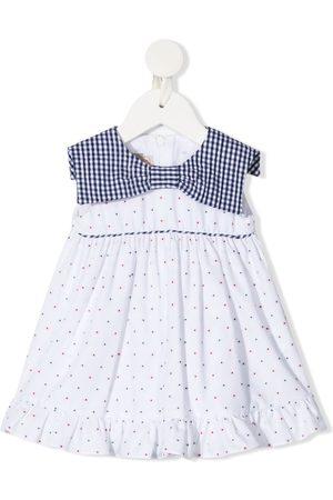 LA STUPENDERIA Polka dot-print sleeveless dress