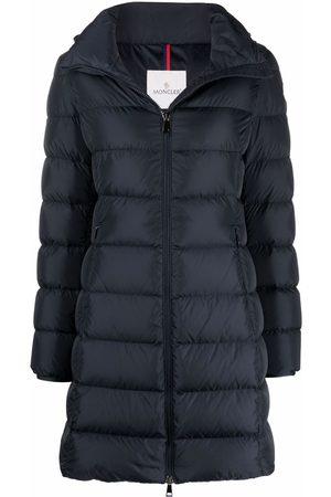 Moncler Zipped padded parka coat