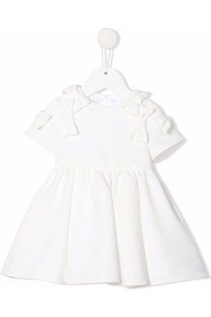 Elisabetta Franchi La Mia Bambina Meisjes Casual jurken - Bow-detail dress