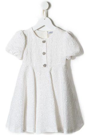 Dolce & Gabbana Meisjes Feestjurken - Floral embroidered dress