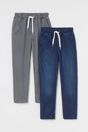 H&M Set van 2 denim joggers