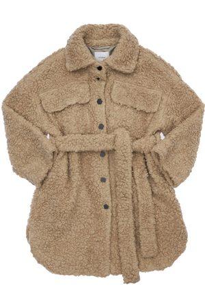 UNLABEL Teddy Coat W/ Belt