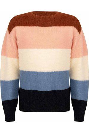 Indian Blue Meisjes Sweaters - Ibgw21-8002
