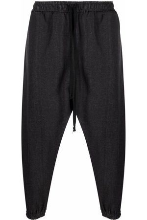 Alchemy Heren Strings - Drawstring-waist cotton trousers