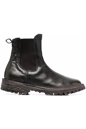 MOMA Leather ankle Chelsea boots