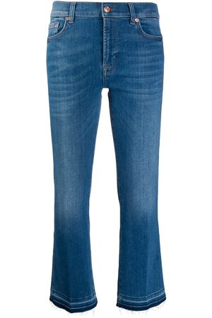 7 For All Mankind Mid rise cropped jeans