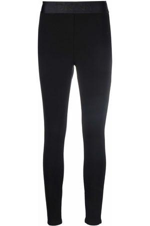 DKNY Logo-waistband leggings