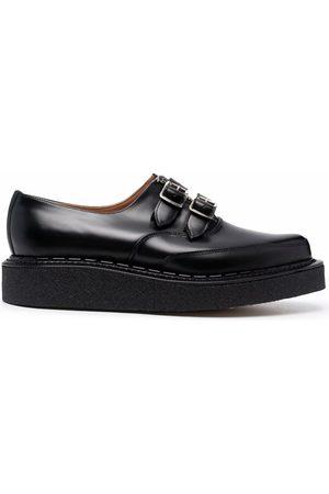 Comme Des Garçons Homme Plus Double-buckle Derby shoes