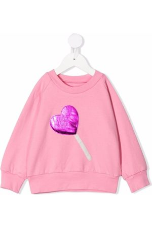 WAUW CAPOW by BANGBANG Sweetheart logo sweatshirt
