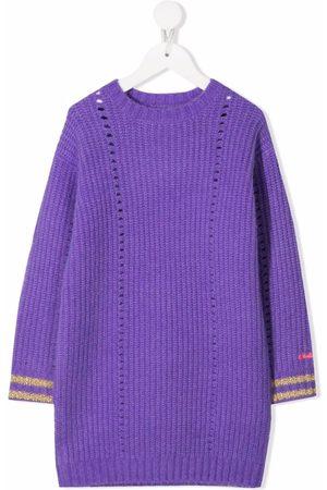 Billieblush Striped cuffs knitted dress