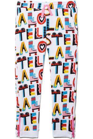 Stella McCartney Kids Stella Loves print track pants
