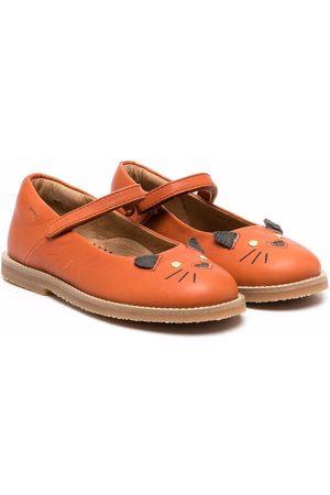 Camper Meisjes Instappers - TWS animal-motif ballerina shoes