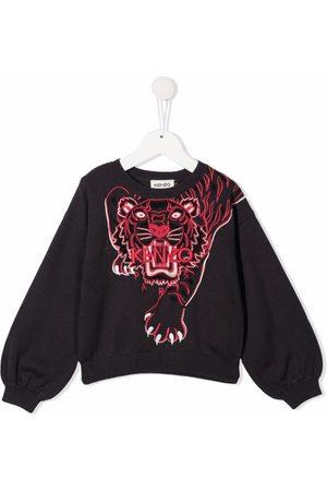 Kenzo Tiger-motif cotton sweatshirt