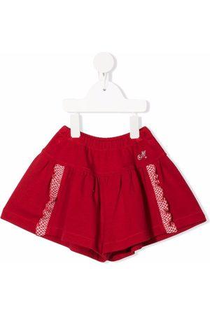 Monnalisa Shorts - Ruffle-trim shorts