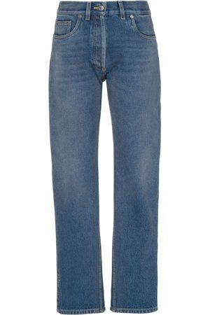 Prada Dames Jeans - Cropped denim jeans