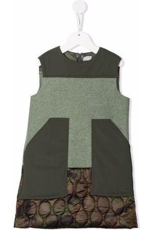 Il Gufo Meisjes Casual jurken - Sleeveless patchwork dress