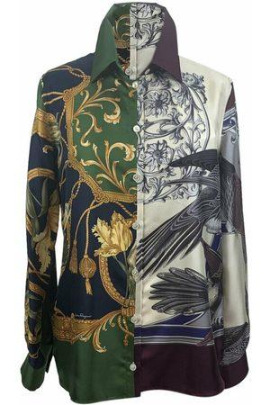 Salvatore Ferragamo Pre-owned T-shirts - Multi Print Down Shirt