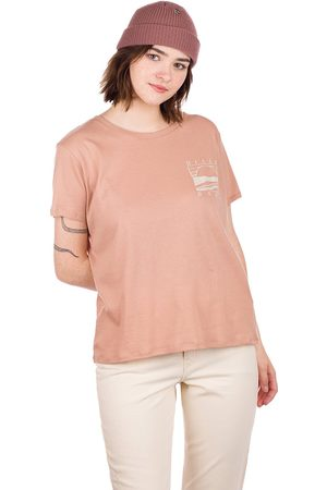 Billabong Dames Korte mouw - Island Days T-Shirt bruin