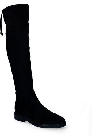 Gabor OptiFit Zwarte Overkneelaarzen