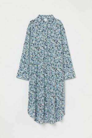 H&M Dames Midi jurken - Hemdjurk