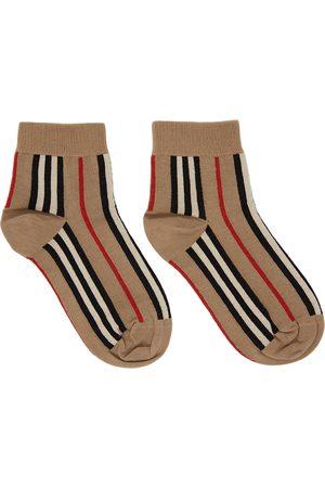 Burberry Stripe Short Socks