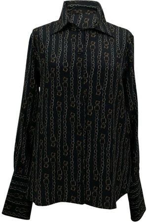 Salvatore Ferragamo Overhemd van zijde Catene-print