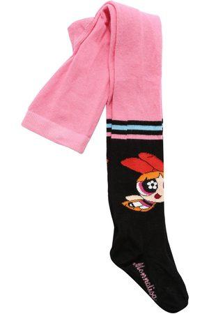 MONNALISA Meisjes Panty's - Powerpuff Jacquard Cotton Blend Tights