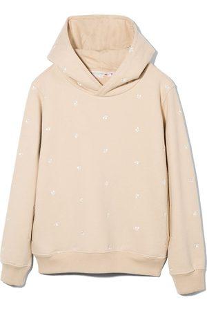 Bonpoint Tita embroidered-cherry hoodie