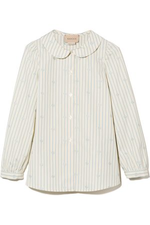 Gucci Double G collared buttoned shirt