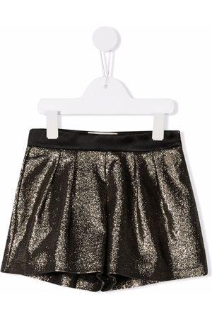 Elie saab Glitter tailored shorts