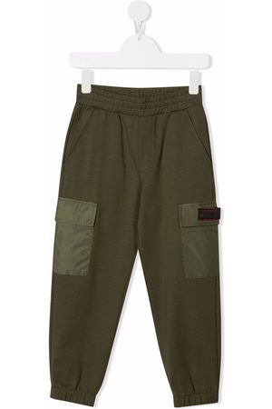 Dondup Tapered-leg cargo trousers