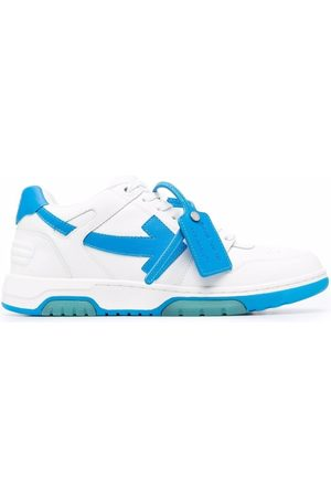 Off-White OUT OF OFFICE CALF LEATHER BLUE
