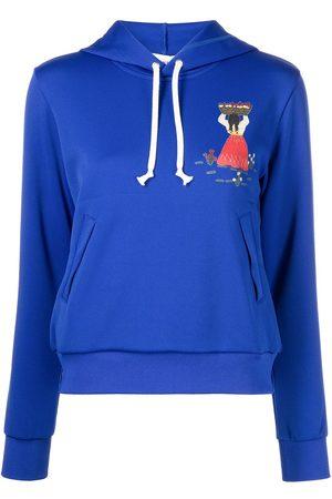 Comme des Garçons Dames Hoodies - Parka graphic-print hoodie