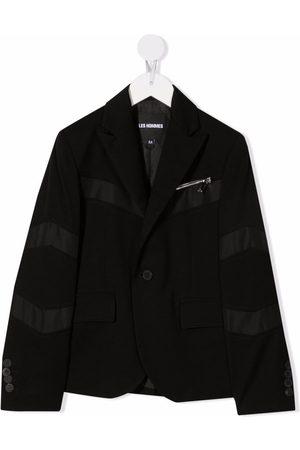 LES HOMMES KIDS Panelled detail blazer