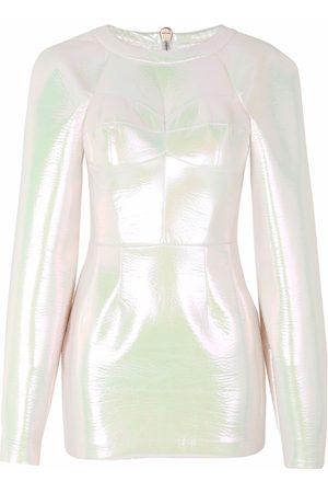 Dolce & Gabbana Iridescent-effect short dress