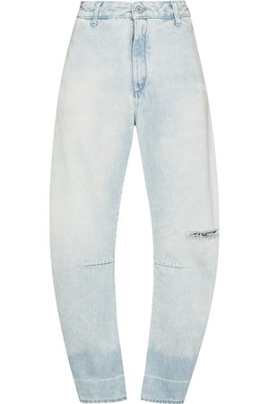 OFF-WHITE Dames Bootcut - Banana tapered leg jeans