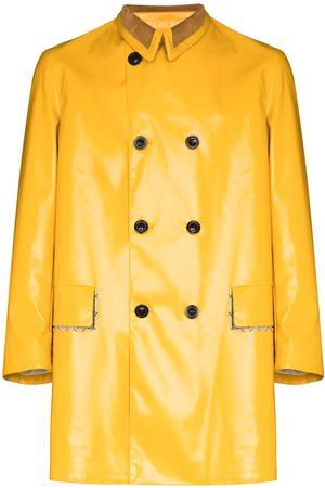 Maison Margiela Heren Donsjassen - Coated-finish double-breasted coat