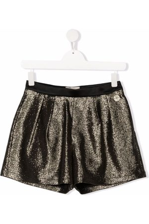 Elie saab Teen glitter tailored shorts