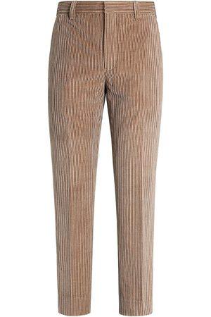 Ermenegildo Zegna Heren Broeken - Tailored corduroy trousers