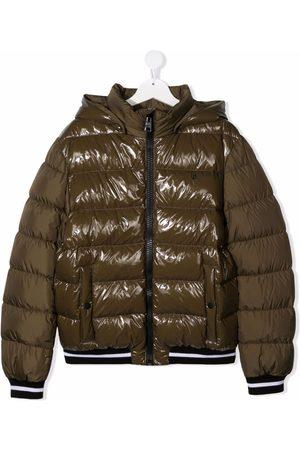 HERNO Donsjassen - TEEN panelled puffer coat