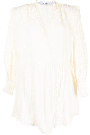 IRO Dames Korte jurken - Cassie lace-detail mini dress