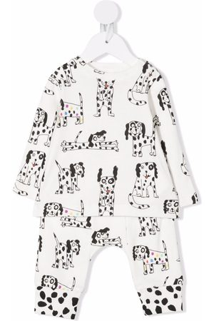 Stella McCartney Dog-print sweatshirt set