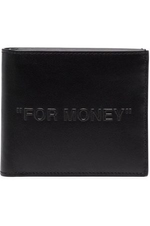 Off-White DEBOSSED QUOTE BIFOLD WALLET