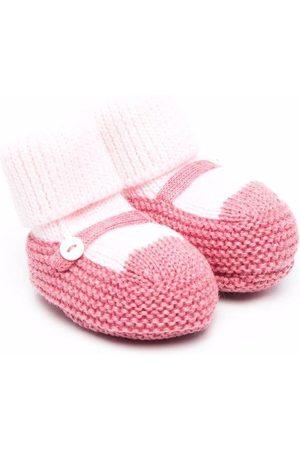LITTLE BEAR Sokken - Button-detail knitted socks