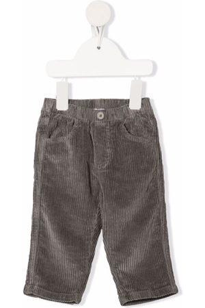 Il Gufo Corduroy slim-cut trousers