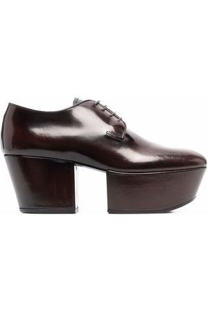 Prada Dames Veterschoenen - Platform lace-up shoes
