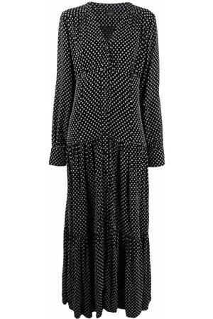 Pinko Polka dot-print maxi dress