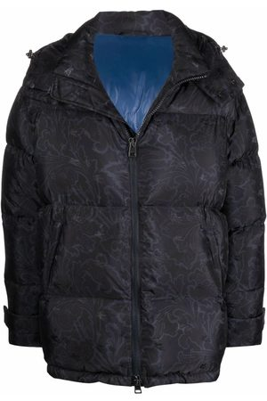 Etro Floral paisley-print puffer jacket